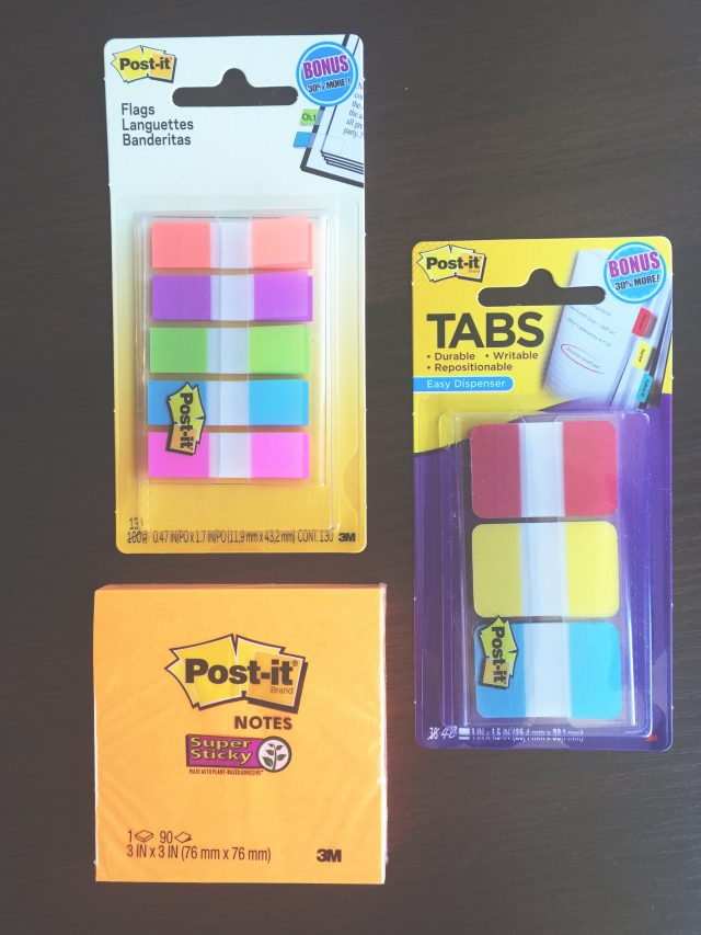 Get Organized for School with Post-It Products