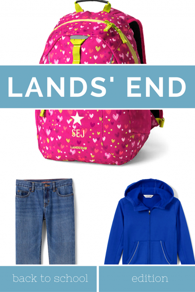 How to Win Back to School Uniforms and Essentials from Lands' End!