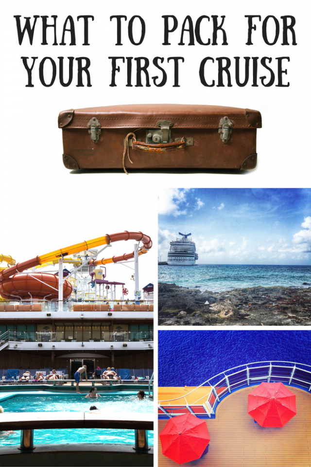 What To Pack For Your First Carnival Cruise Mom Spark