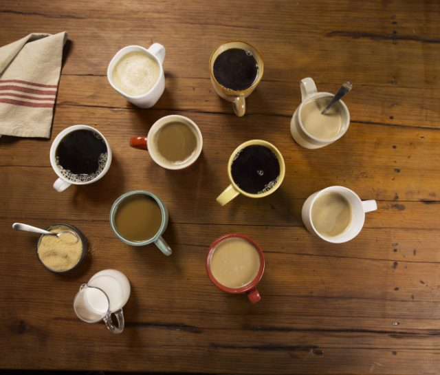 Coffee in Mugs