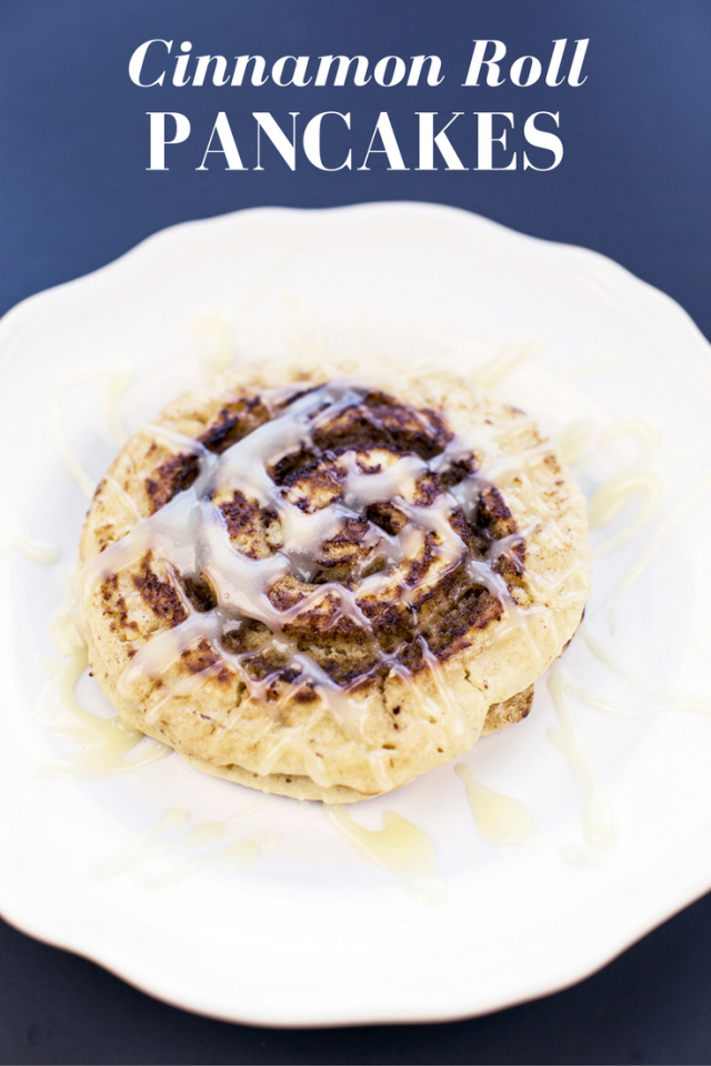 Easy Cinnamon Roll Pancake Recipe