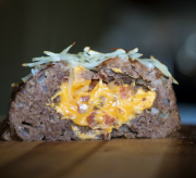 Crock-Pot Slow Cooker Bacon Cheeseburger Meatloaf Recipe
