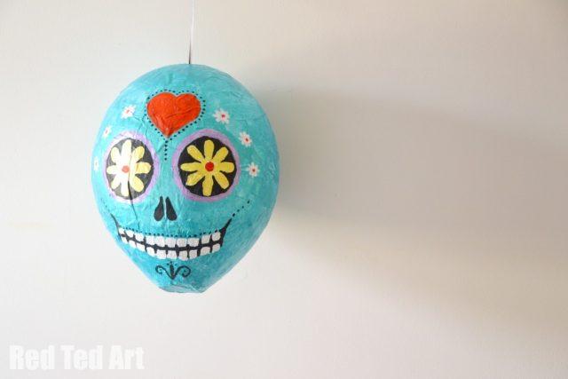 Sugar Skull Piñata