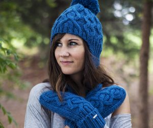 Cozy Knit Hats and Mittens for Fall and Winer Fashion