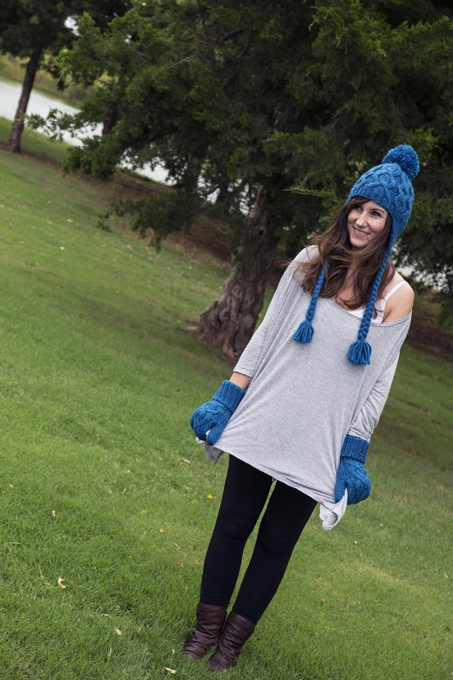 Cozy Knit Hats and Mittens for Fall and Winter Fashion