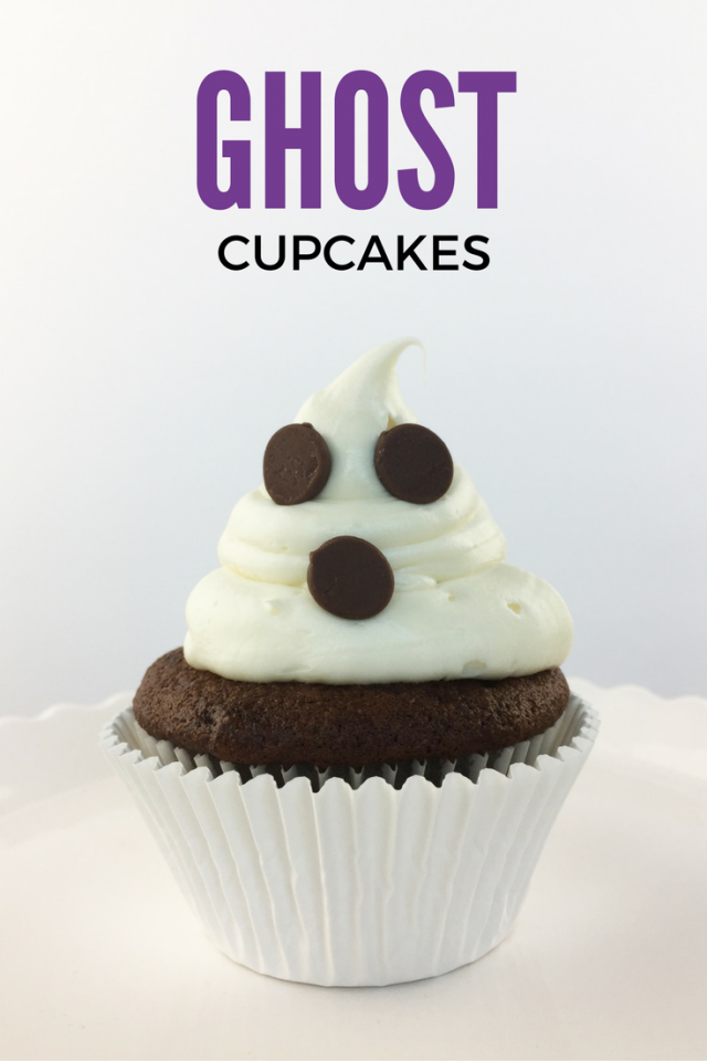 Not-So-Scary Halloween Ghost Cupcake Recipe