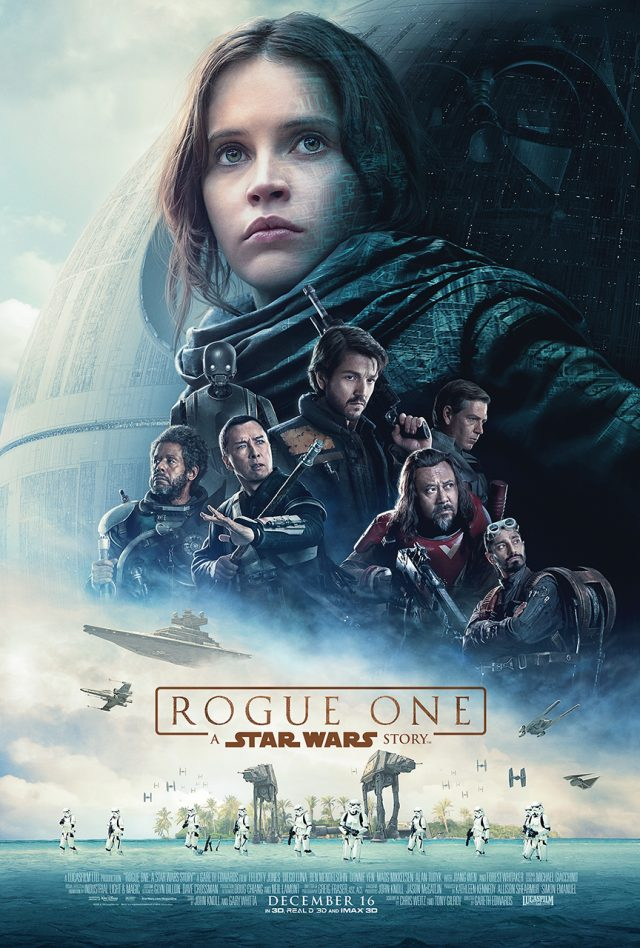 ROGUE ONE: A STAR WARS STORY - New Trailer, Poster & Images