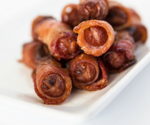 Sweet Bacon-Wrapped Little Smokies Appetizer Recipe