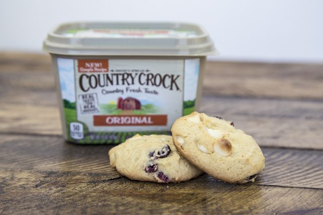 Buttery Cranberry and White Chocolate Chip Cookie Recipe
