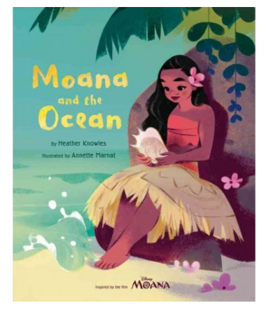 """Moana And The Ocean"" Book"