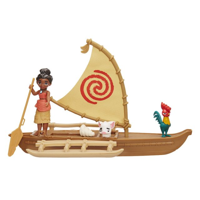 Moana Canoe Play Set