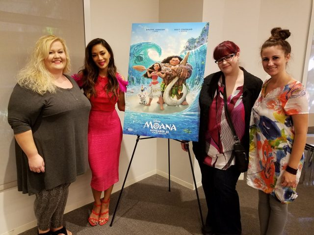 My Interview With Disney Moana's Nicole Scherzinger