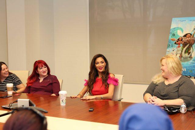 My Interview With Disney Moana's Nicole Scherzinger