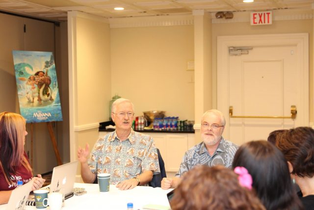 Directors Ron Clements and John Musker Share Easter Eggs in Disney's MOANA Movie
