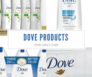 Dove and Sam's Club are Smoothing Out My Holidays