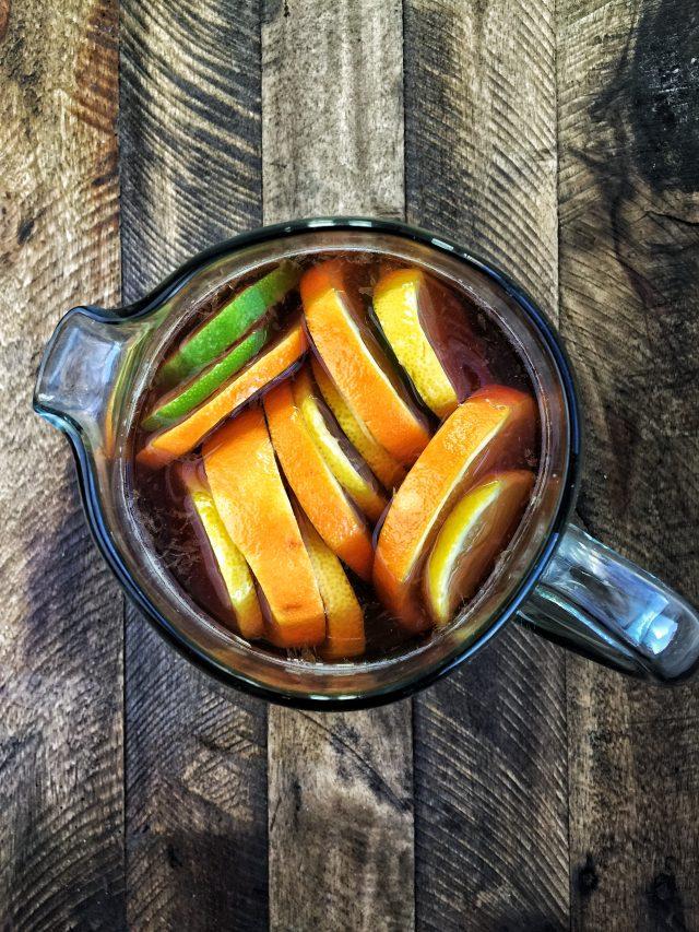 Sangria Tea Mocktail Recipe