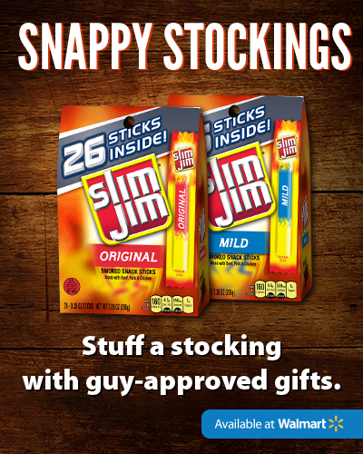 Wish Him Happy Holidays with Slim Jim from Walmart