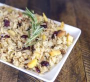 Cranberry Apple Holiday Rice Recipe