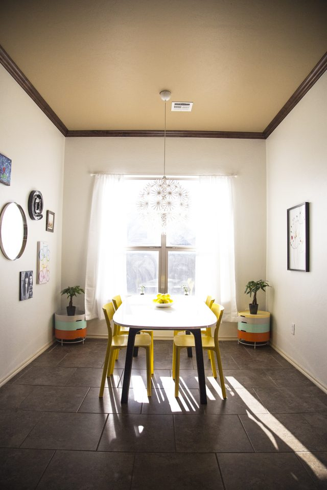 My ikea modern american dining room dream design mom spark mom blogger - Ikea dining rooms ...