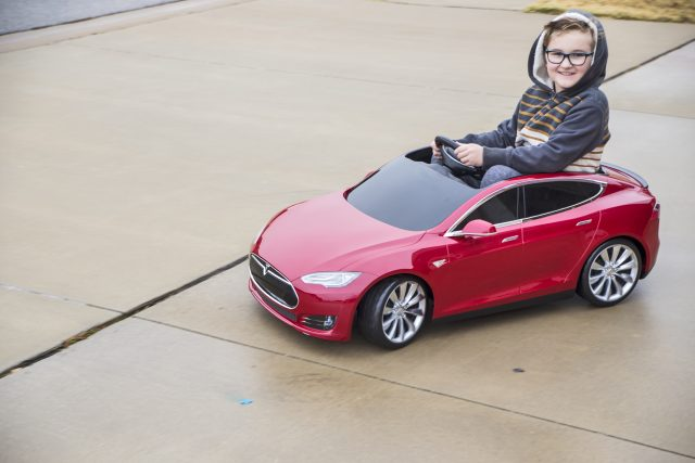 Tesla Model S for Kids from Radio Flyer