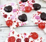 White Chocolate Valentine Bark Recipe
