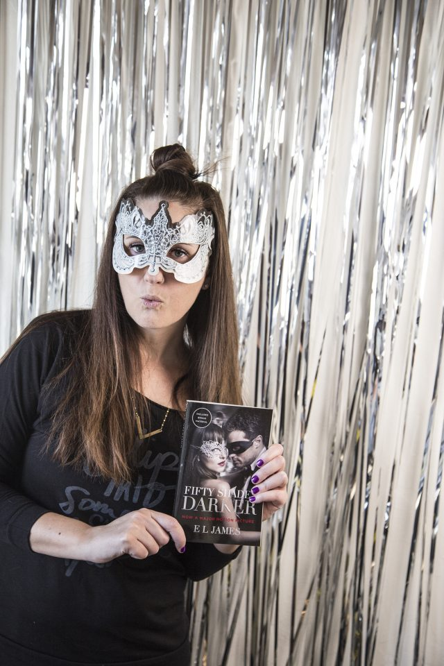 How to Throw a Fifty Shades Darker Masquerade Party (and a Yummy Cookie Recipe)
