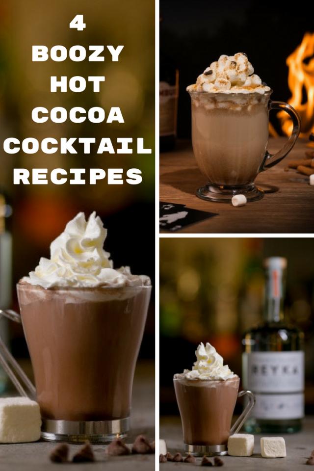 4 Boozy Hot Cocoa Cocktail Recipes