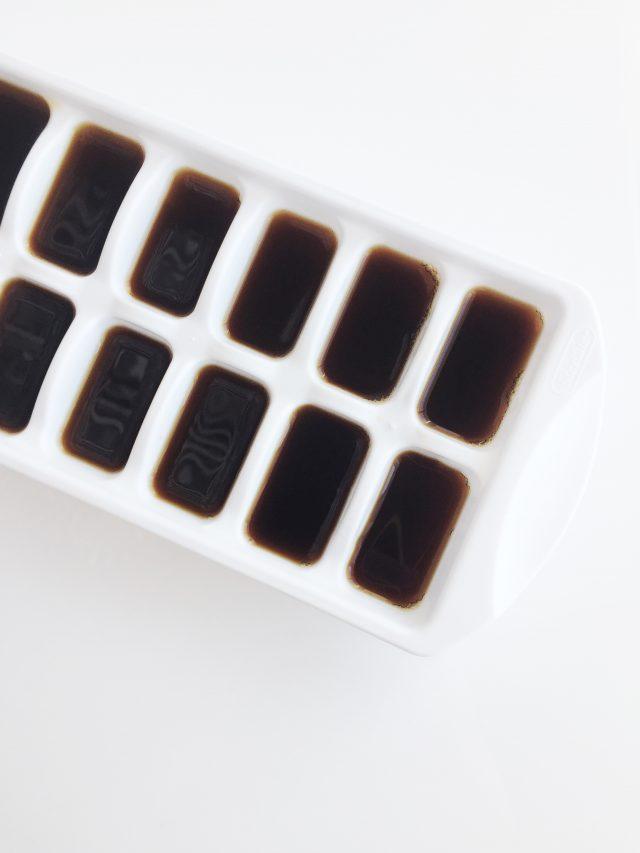 Leftover Coffee Ice Cubes Recipe