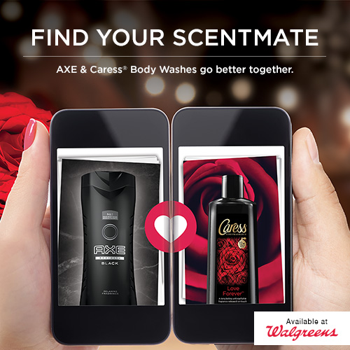 AXE + Caress = A Perfect Fragrance Combination for Valentine's Day