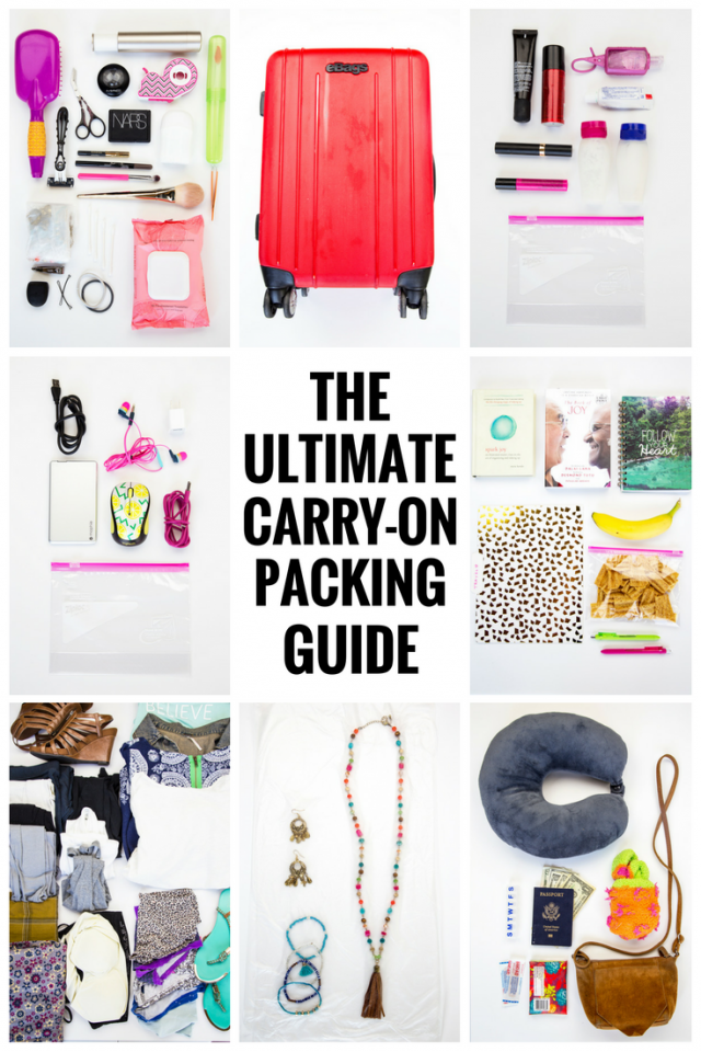 Ultimate Carry-on Packing Guide
