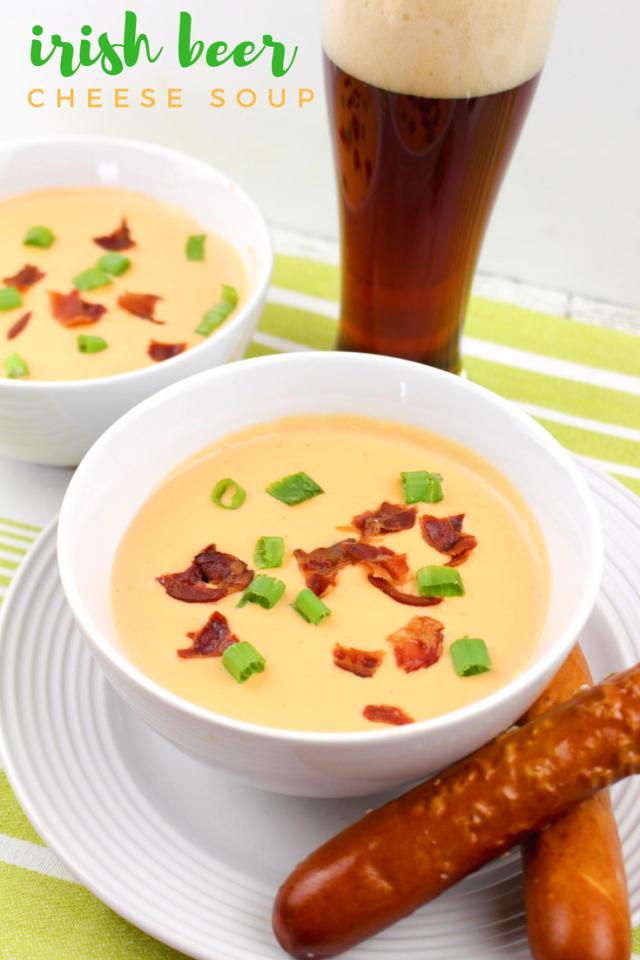 St. Patrick's Day Irish Beer Cheese Soup Recipe