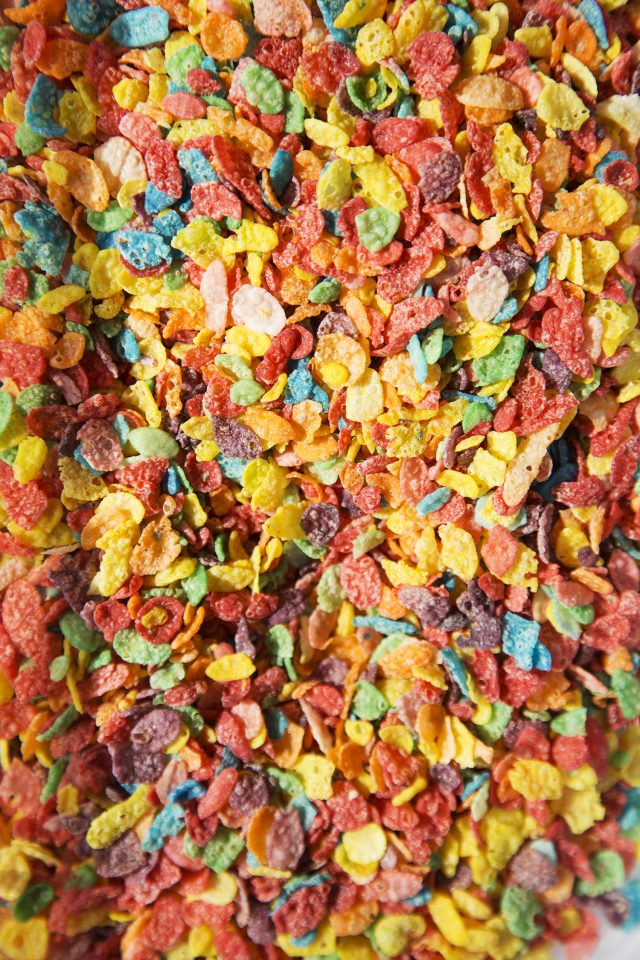 Fruity Pebbles Rainbow Paper Craft for St. Patrick's Day