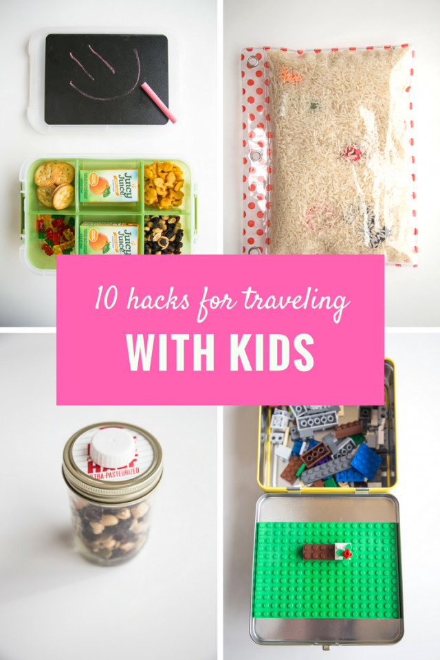 10 Cool Hacks for Traveling with Kids