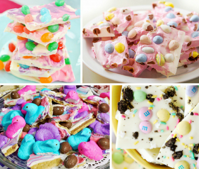 20 Gorgeous Recipes for Easter Bark