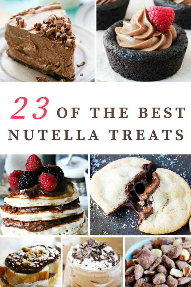 23 of the Best Nutella Recipe Treats