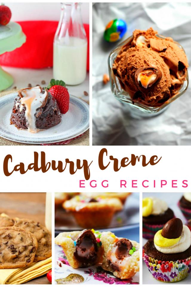 15 Cadbury Creme Egg Recipes