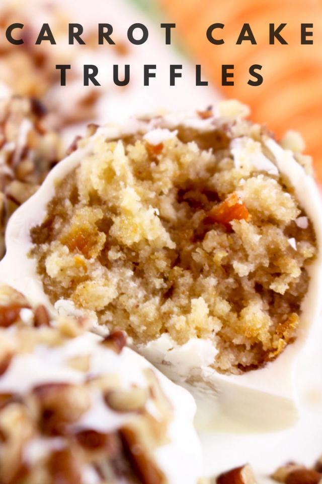 Carrot Cake Truffle Recipe