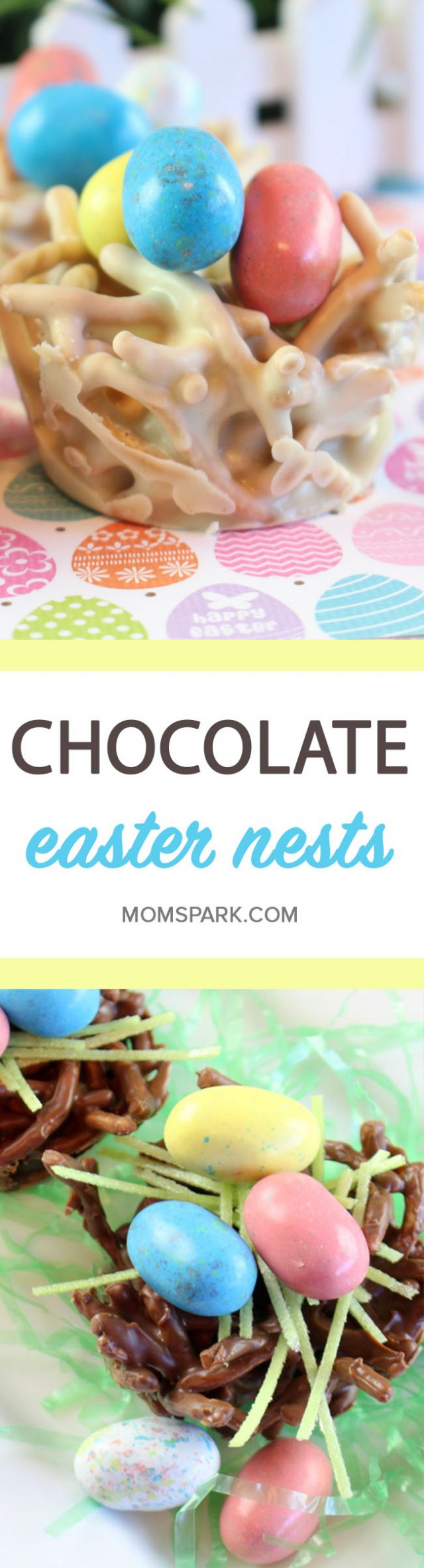 Chocolate Easter Candy Nests Recipe