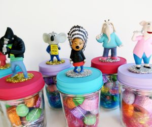 "DIY ""SING"" Movie Easter Candy Jars"