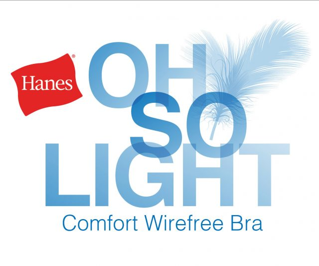 Hanes® Oh So Light Comfort Wirefree Bra + $50 Giveaway