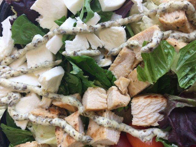 Wendy's Fresh Mozzarella Chicken Salad