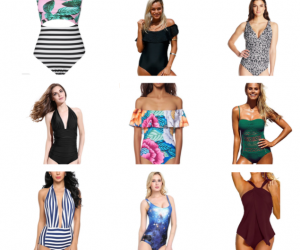 21 One-Piece Swimsuits Women are Buying on Amazon