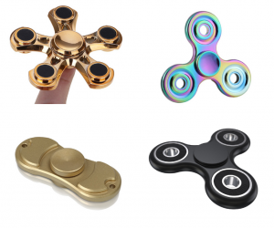You must be living under a rock if you haven't heard about fidget spinners. Fidget spinners have been all over the news. For parents, you may have received an email or letter home from your child's principal about rules surrounding the use of fidget spinners at school. Maybe you've even laughed hysterically at a post on Facebook about how to use a fidget spinner. Whether you're in the market for a fidget spinner to distress, keep your mind focused or simply to make fun of the things, here is a collection of The 10 Best Fidget Spinners You Can Buy on Amazon right now!