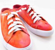 DIY Ice Dyed Sneakers Craft