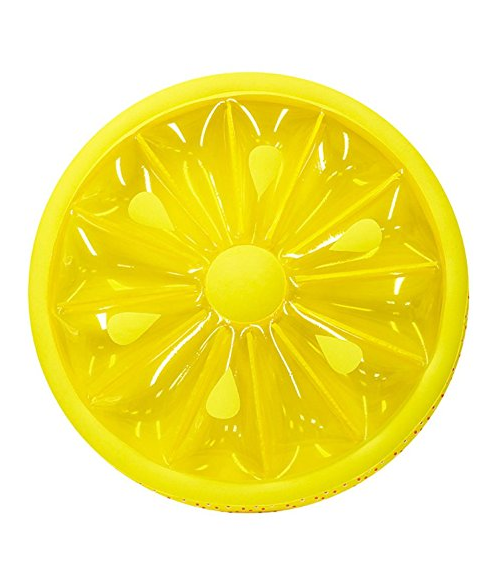 We've already shared a bunch of one-piece swimsuits moms are buying on Amazon right now. Now I'm here to share with you 17 awesome pool floats you need to bring to the pool this summer with thisLemon Slice Pool Float