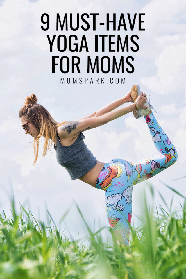 As a mom, yoga is one of my favorite exercises. I didn't know what I needed to start doing yoga, so I asked other moms on Facebook their must-have yoga items.