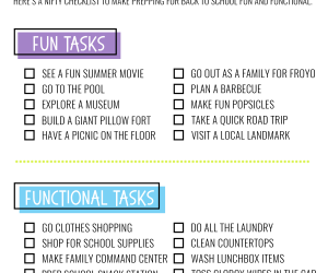 The Ultimate Back to School Checklist - Free Printable!