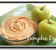 Easy Light Pumpkin Dip Recipe