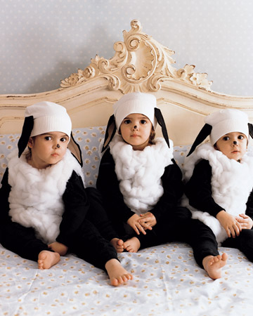 halloween diy little lambs costume