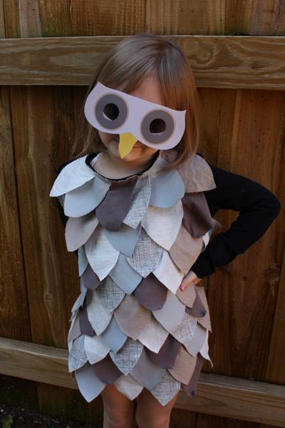 owl costume diy halloween